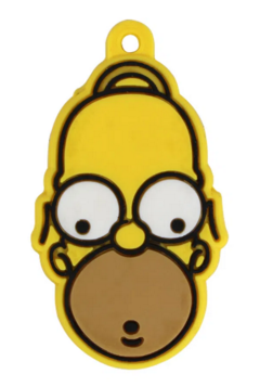 Capa de chave The Simpsons