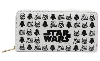 Carteira Stormtrooper 19,5cm x 9,5cm Star Wars