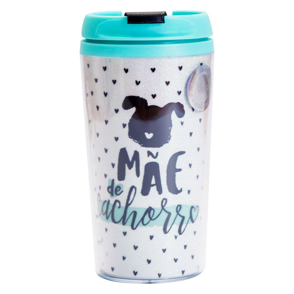 Copo Térmico Pop Glitter - Mãe de Cachorro Uatt