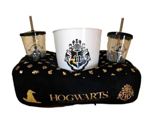 KIT Almofada Pipoca Harry Potter