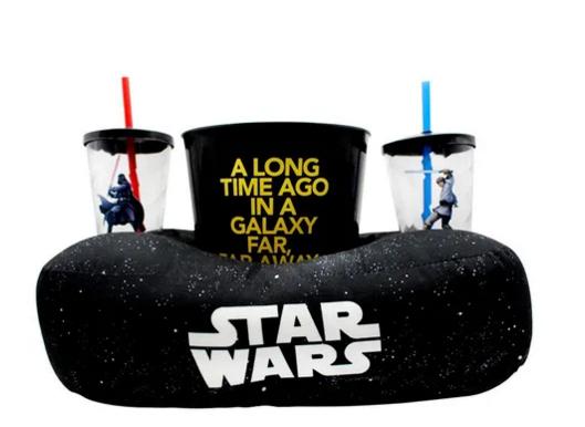 KIT Pipoca Star Wars Galaxia