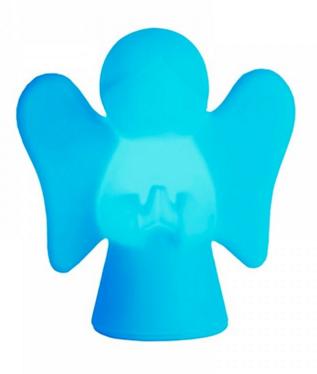 Luminária Anjinho da Gurda Azul Usare