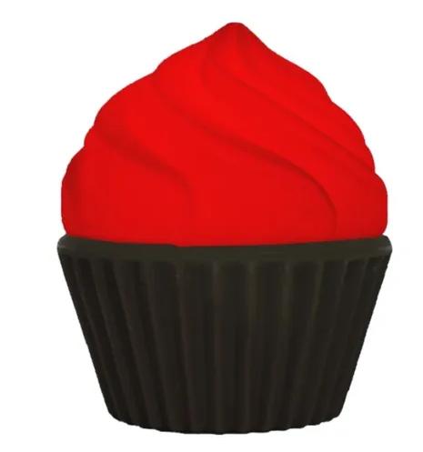 Luminária Cupcake Vermelho Usare
