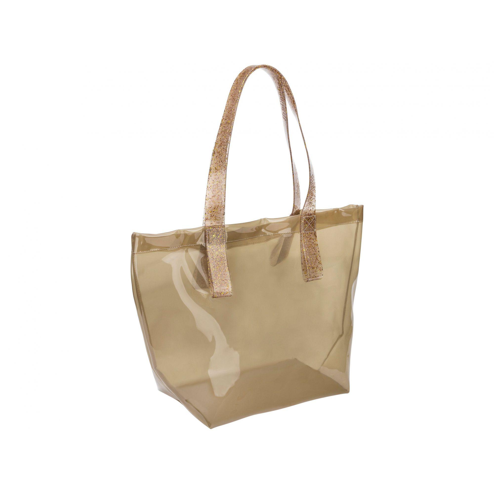 Melissa Bright Bag Bege Glitter