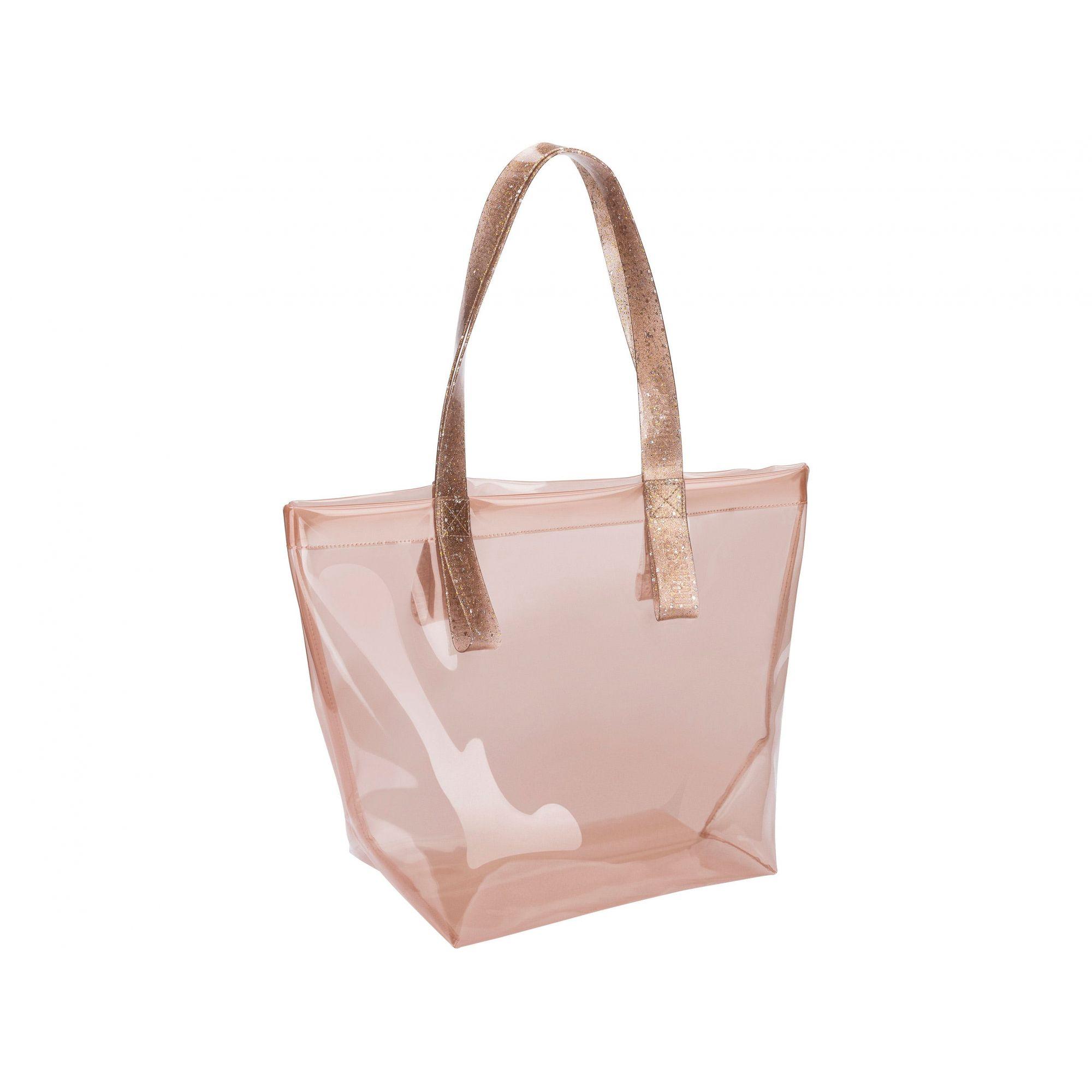 Melissa Bright Bag Rosa Glitter