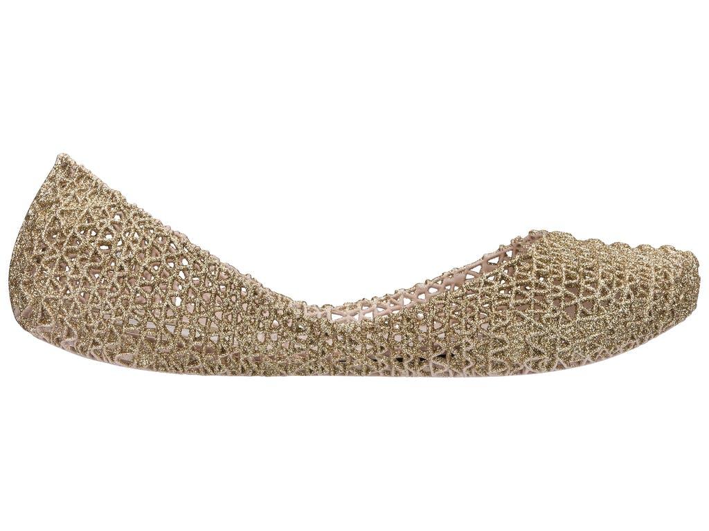 Melissa Campana Papel VII Bege Glitter