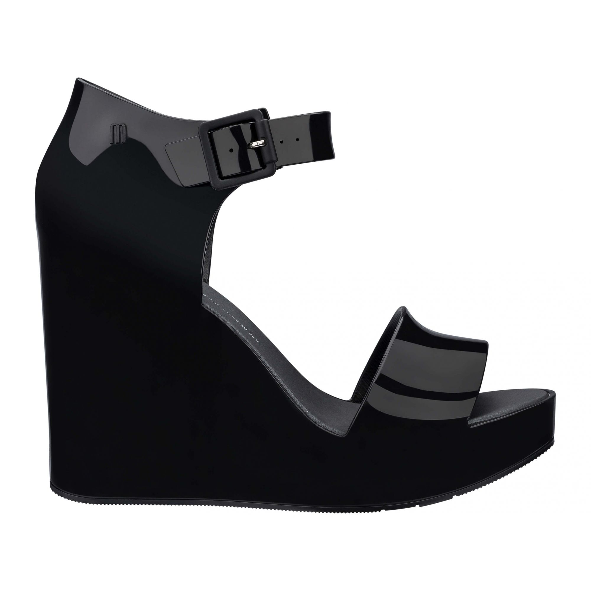 Melissa Mar Wedge Preto