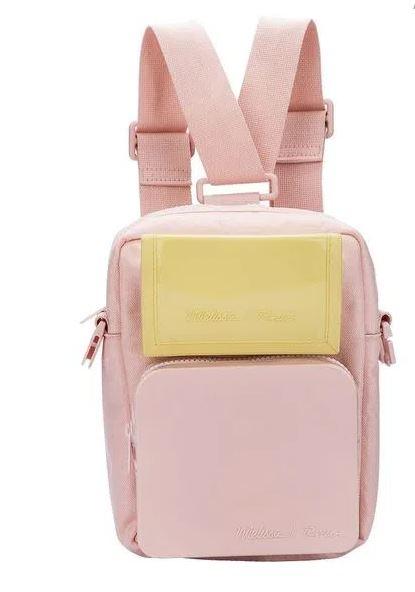 Melissa Max Bag RideR Rosa/ Amarelo