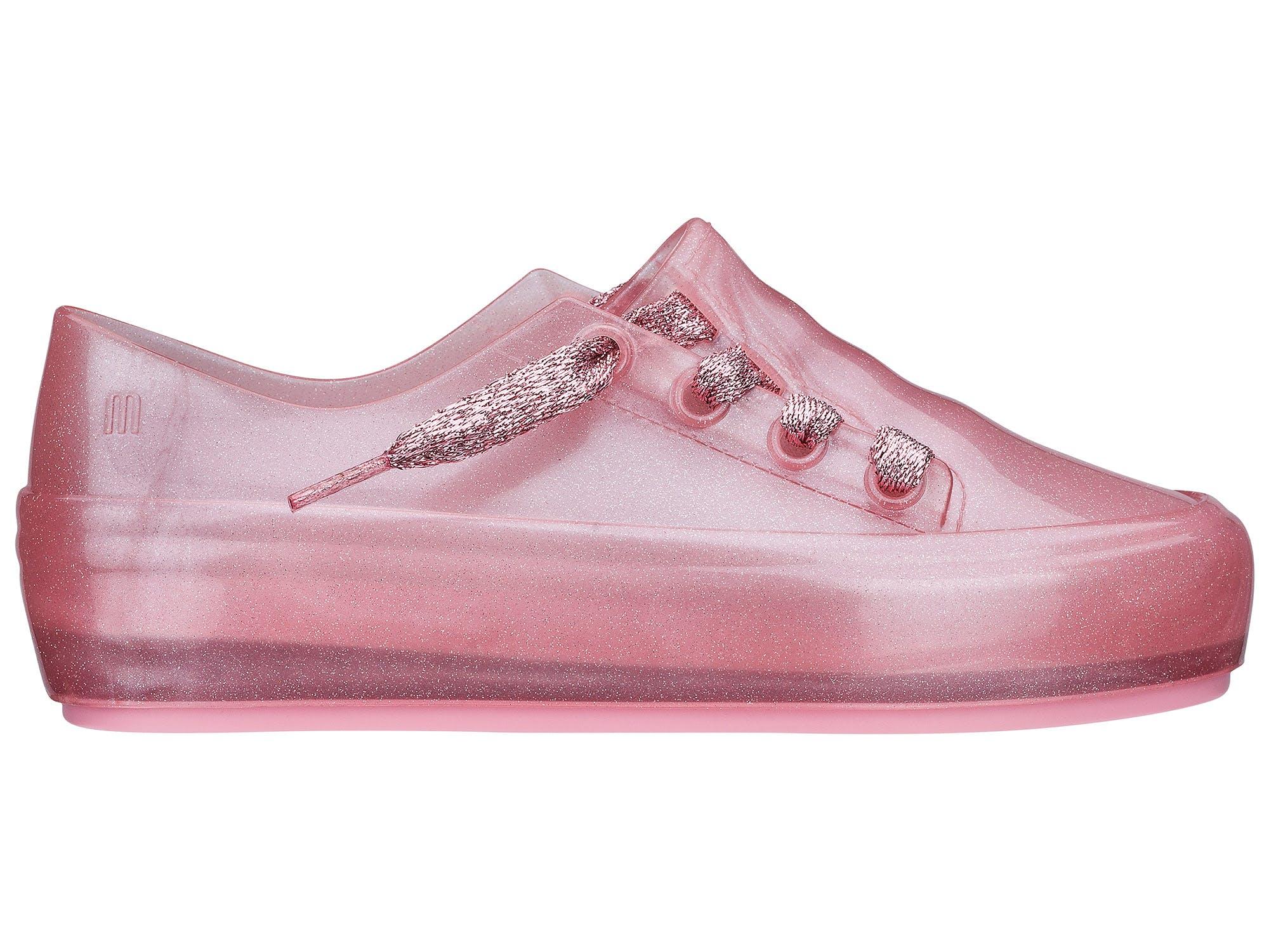 Melissa Mel Ulitsa Sneaker Rosa Perol Glitter