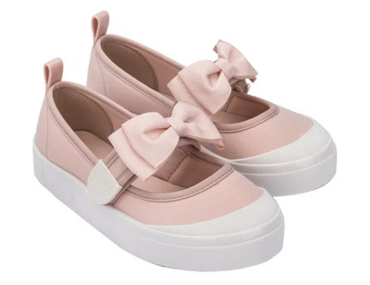 Mini Melissa Basic Branco/Preto