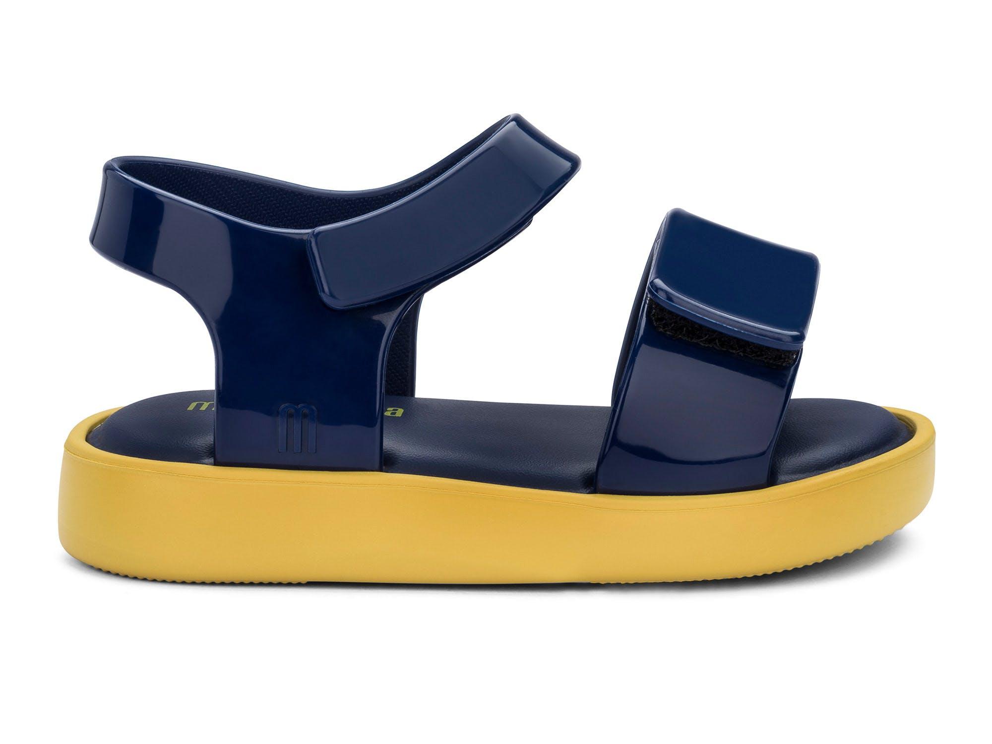 Mini Melissa Jump Amarelo/Azul