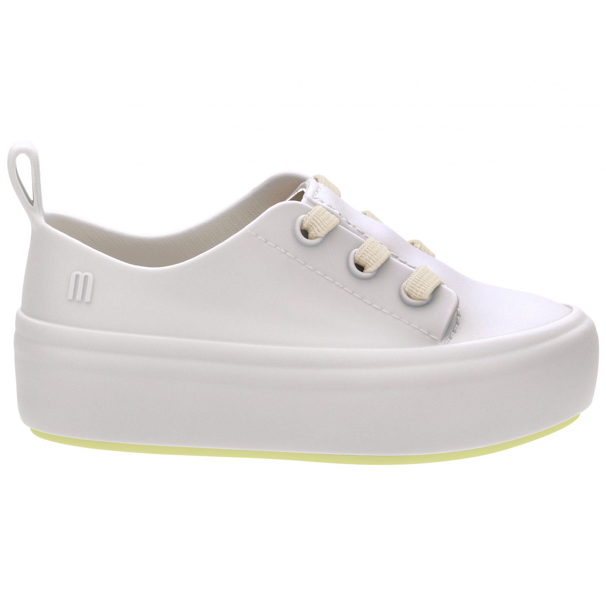 Mini Melissa Ulitsa Sneaker Bege Amarelo