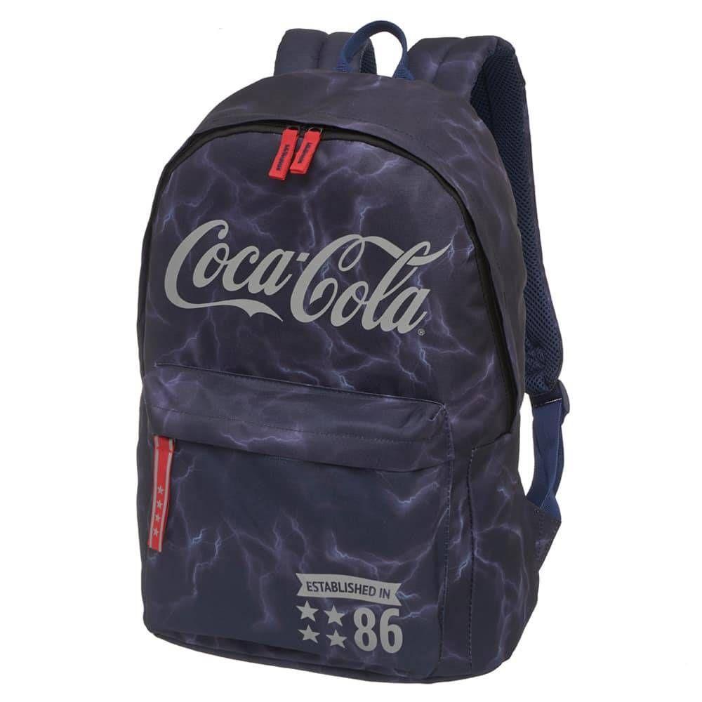 Mochila Coca - Cola Bolt Azul   7118604
