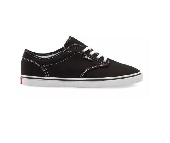 Tênis Vans Atwood Canvas Black/White