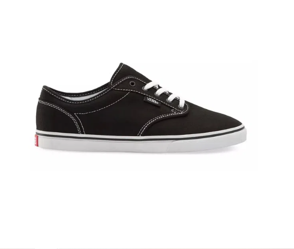 Tênis Vans Atwood Canvas Black/White