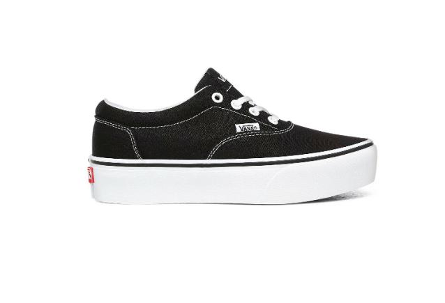 Tênis Vans Doheny Platform - Black/White