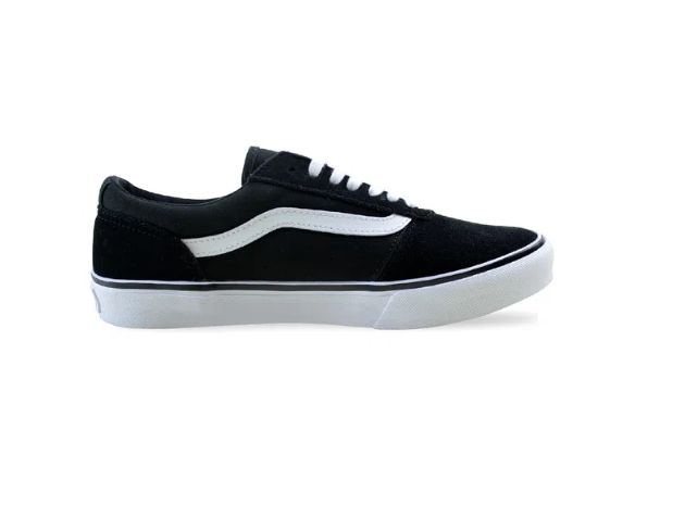 Tênis Vans Maddie Suede/Canvas Black/White