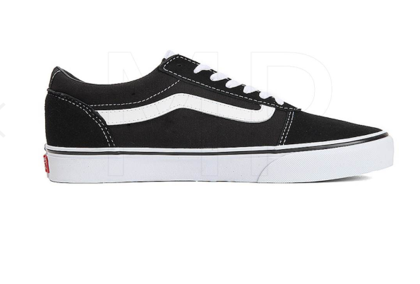Tênis Vans Ward (Suede Canvas) Black/White