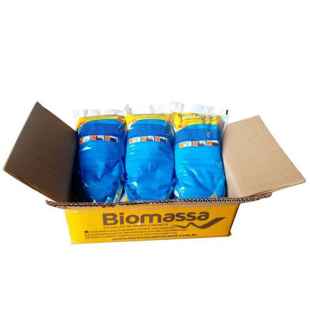 Argamassa Biomassa Caixa (06 bisnagas)