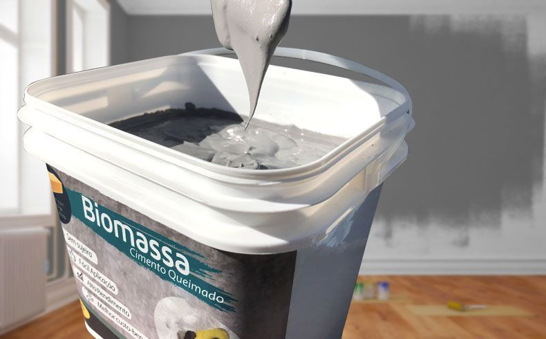 Biomassa Cimento Queimado - Cor Grafite
