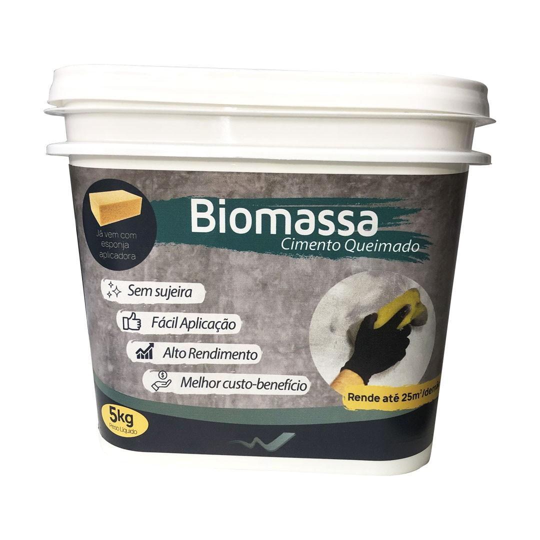 Cimento Queimado - Cor: Grafite - 01 balde - Biomassa do Brasil