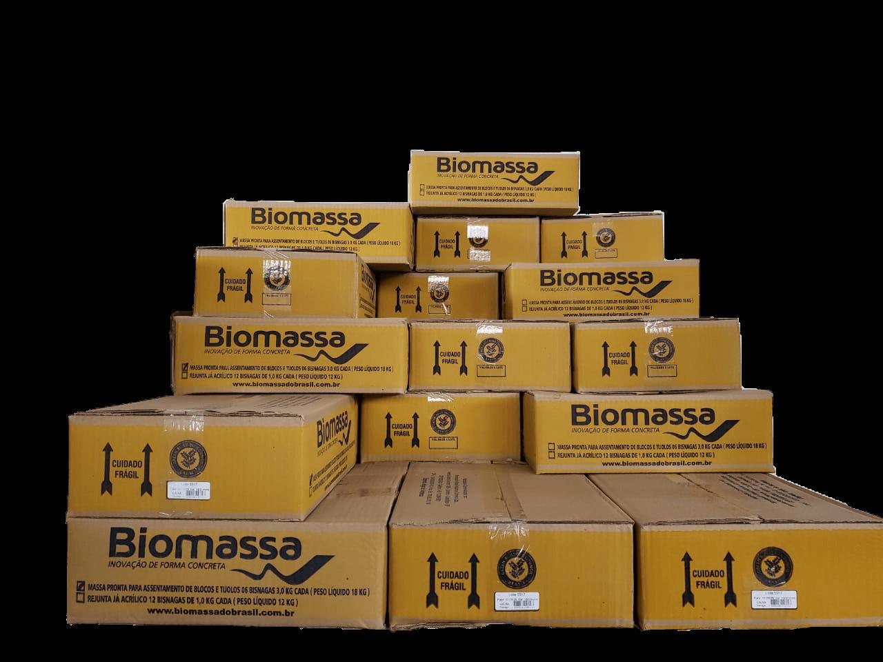 PACOTÃO Argamassa Biomassa com 10% de DESCONTO (10 caixas)