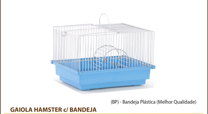 Gaiola Hamster Bandeja
