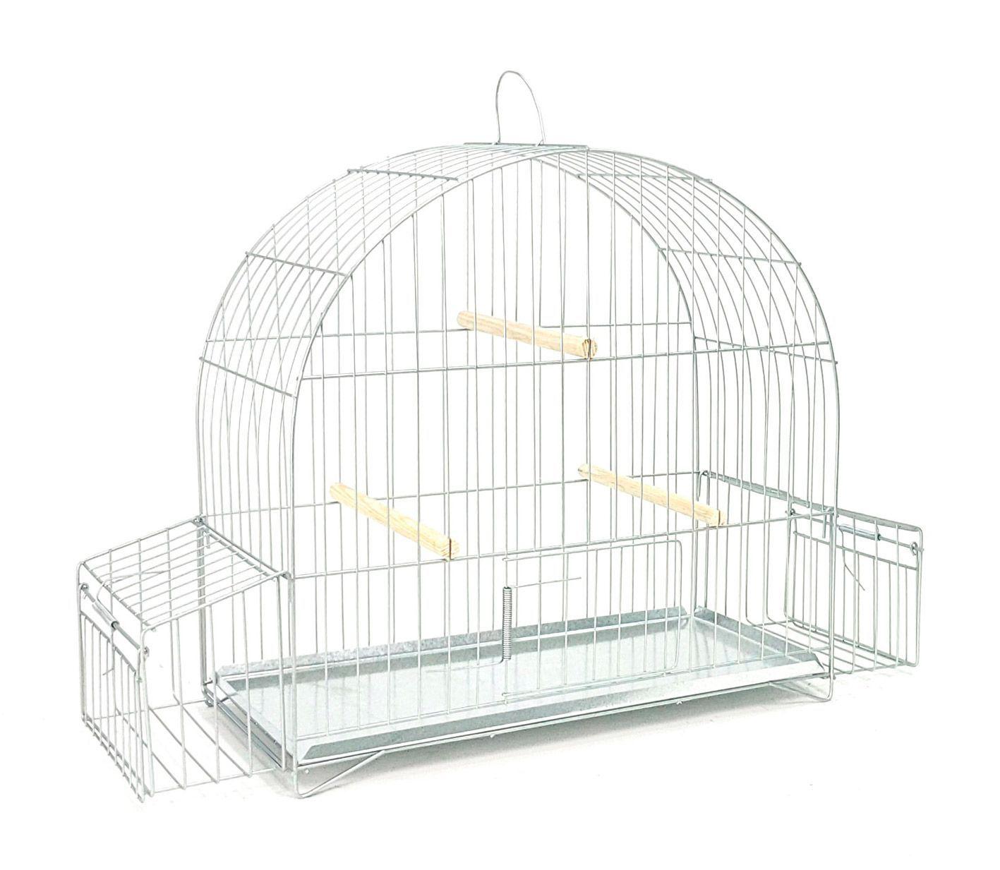Gaiola Pássaro Preto Arco 5 c/ Aba
