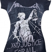 Camiseta Personalizada Metallica