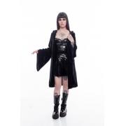 Cardigan Black Velvet