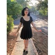 Vestido Dark Doll - Pronta Entrega
