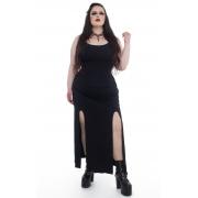 Vestido Longo Basic Duo - Pronta Entrega