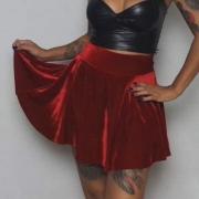 Shorts Saia Red Velvet