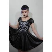 Vestido Dark Baphomet