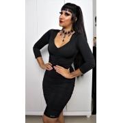 Vestido Drapeado Lady