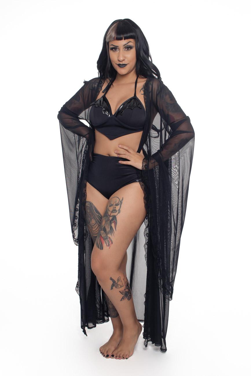 Biquíni Goth Bats