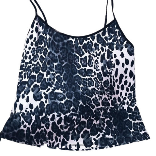 Blusa pijama Onça black