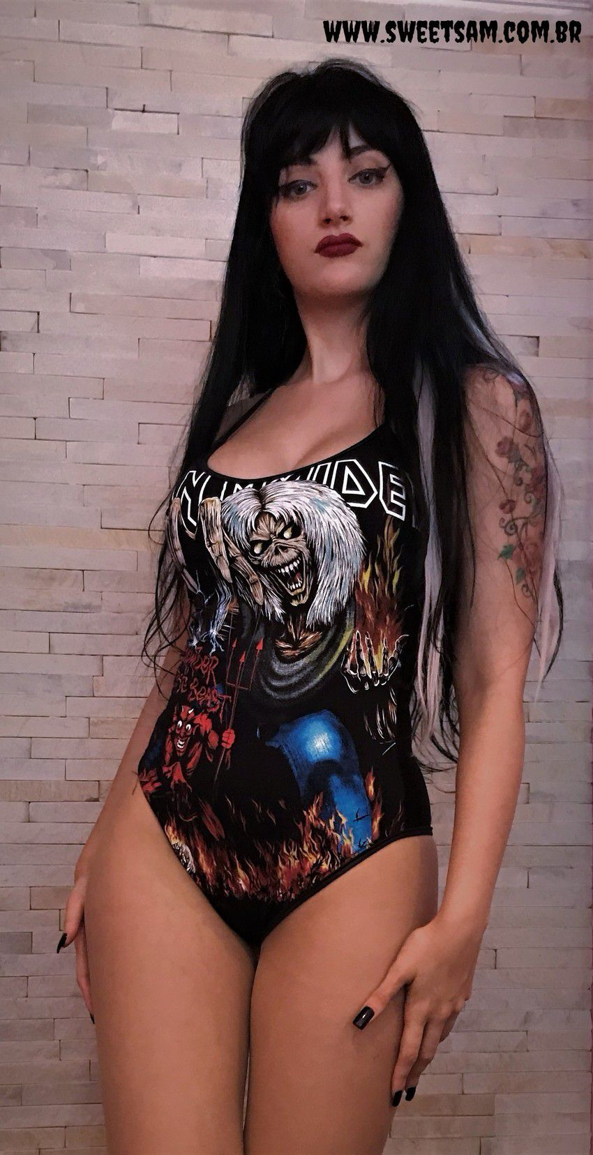 Body Iron Maiden The Number Of The Beast