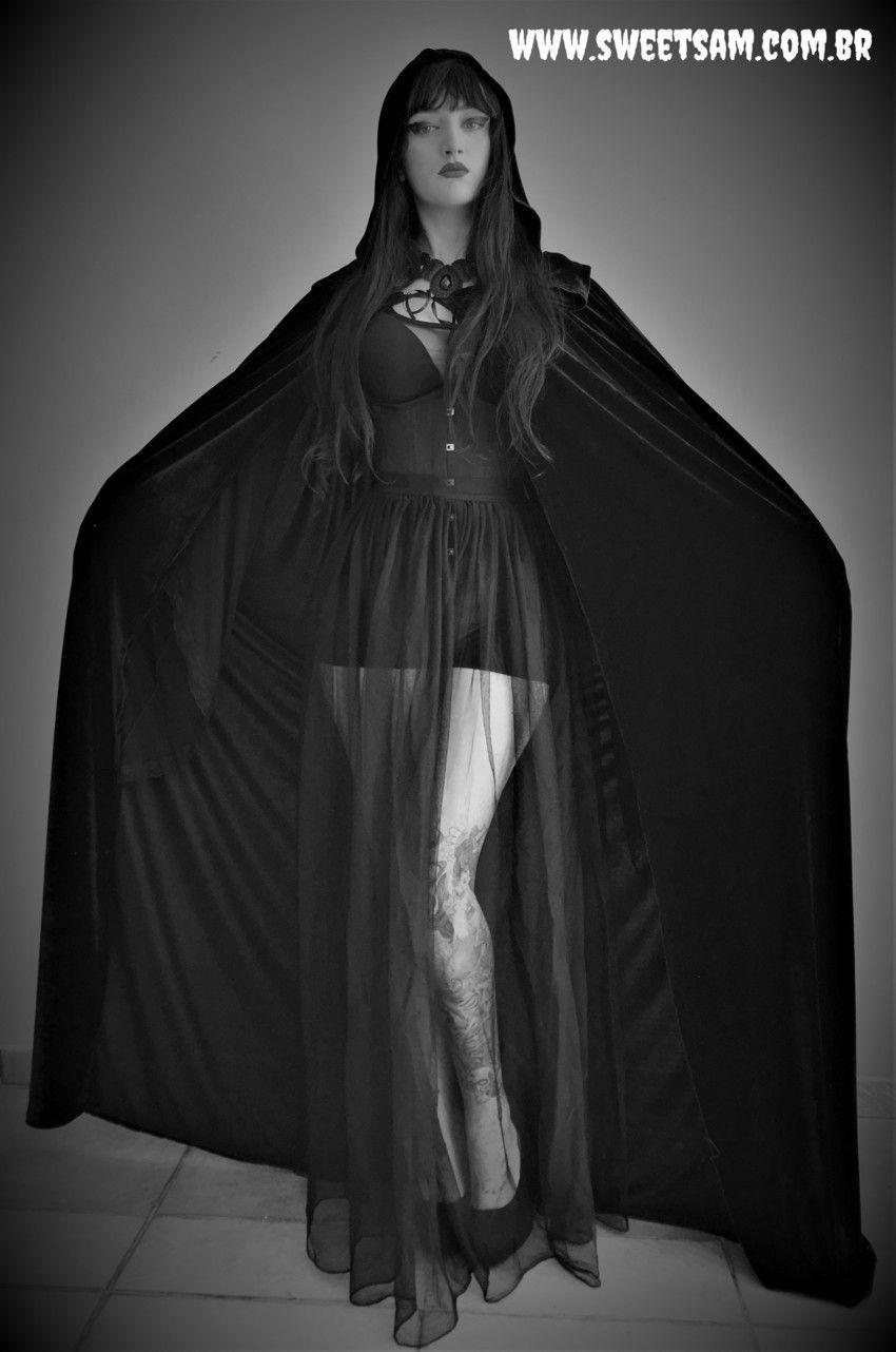 Capa de veludo Dama da Noite