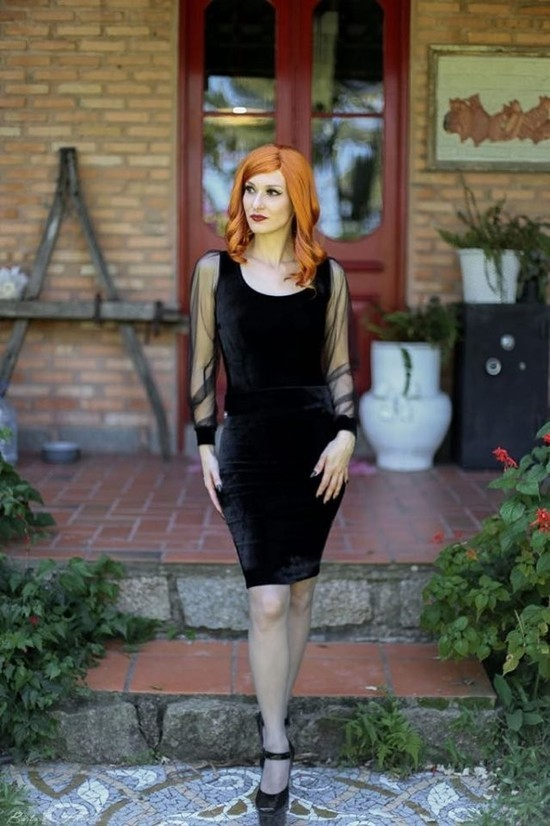 Conjunto Glam Goth By Sana
