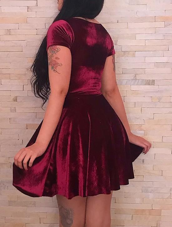 Vestido Gothic Doll Rubi - Pronta  Entrega