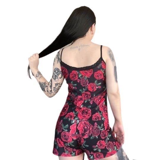 Short Doll Roses - Pronta  Entrega