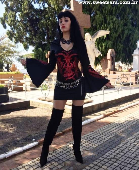 Vestido Baphomet Red