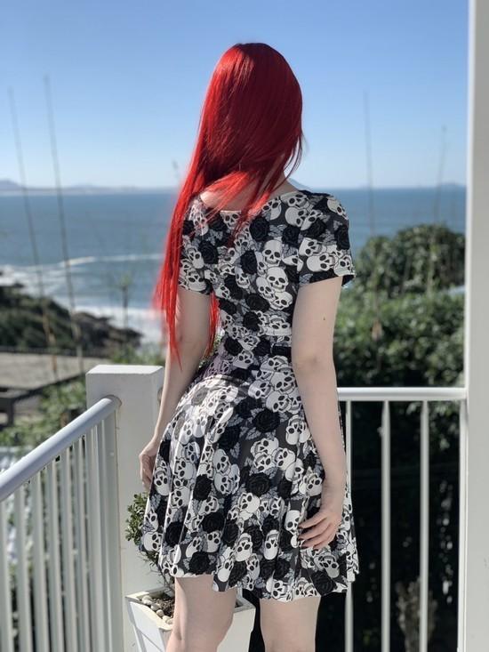 Vestido Black Rose
