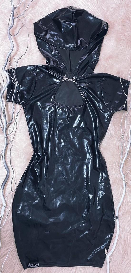 Vestido de Vinil com lycra