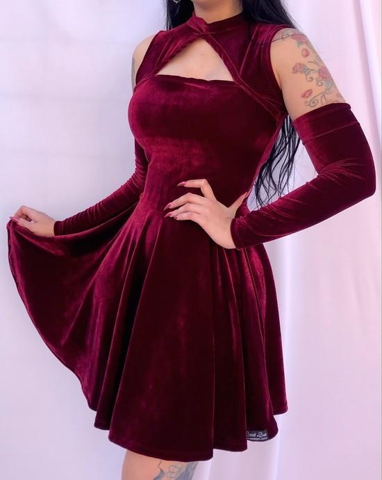 Vestido Godê Mariana 2 em 1