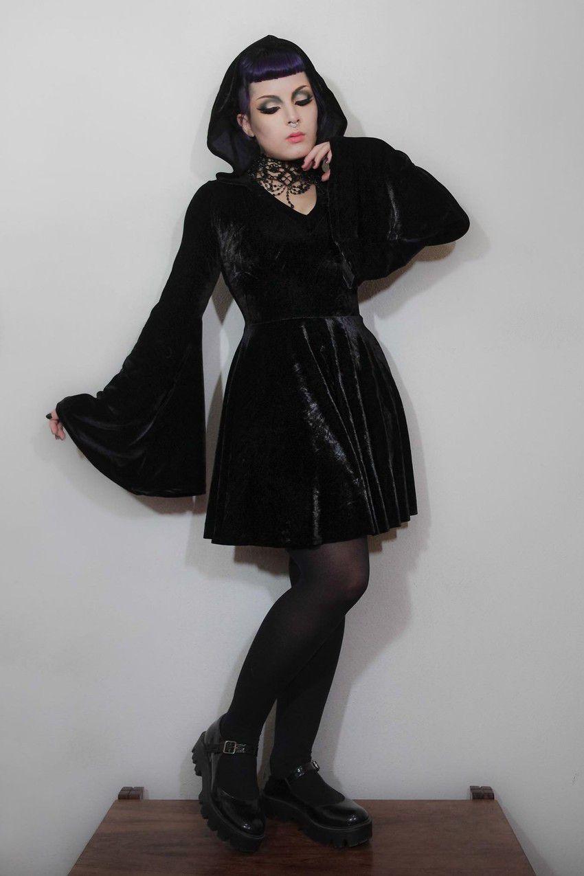 Vestido Gothic Doll Black