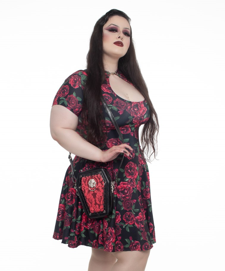 Vestido Lady Dragon Roses