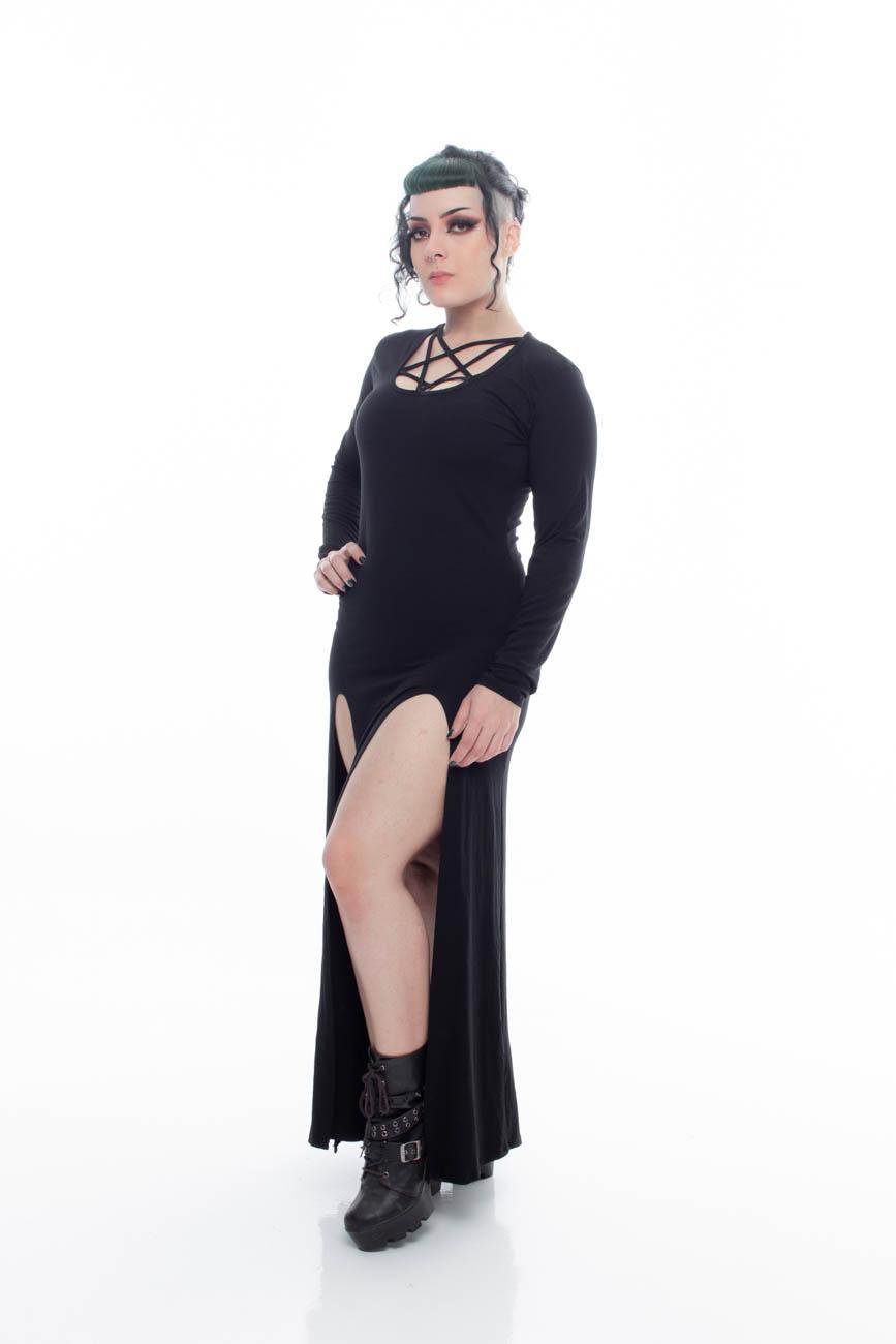 Vestido Longo Magic Night - Pronta  Entrega