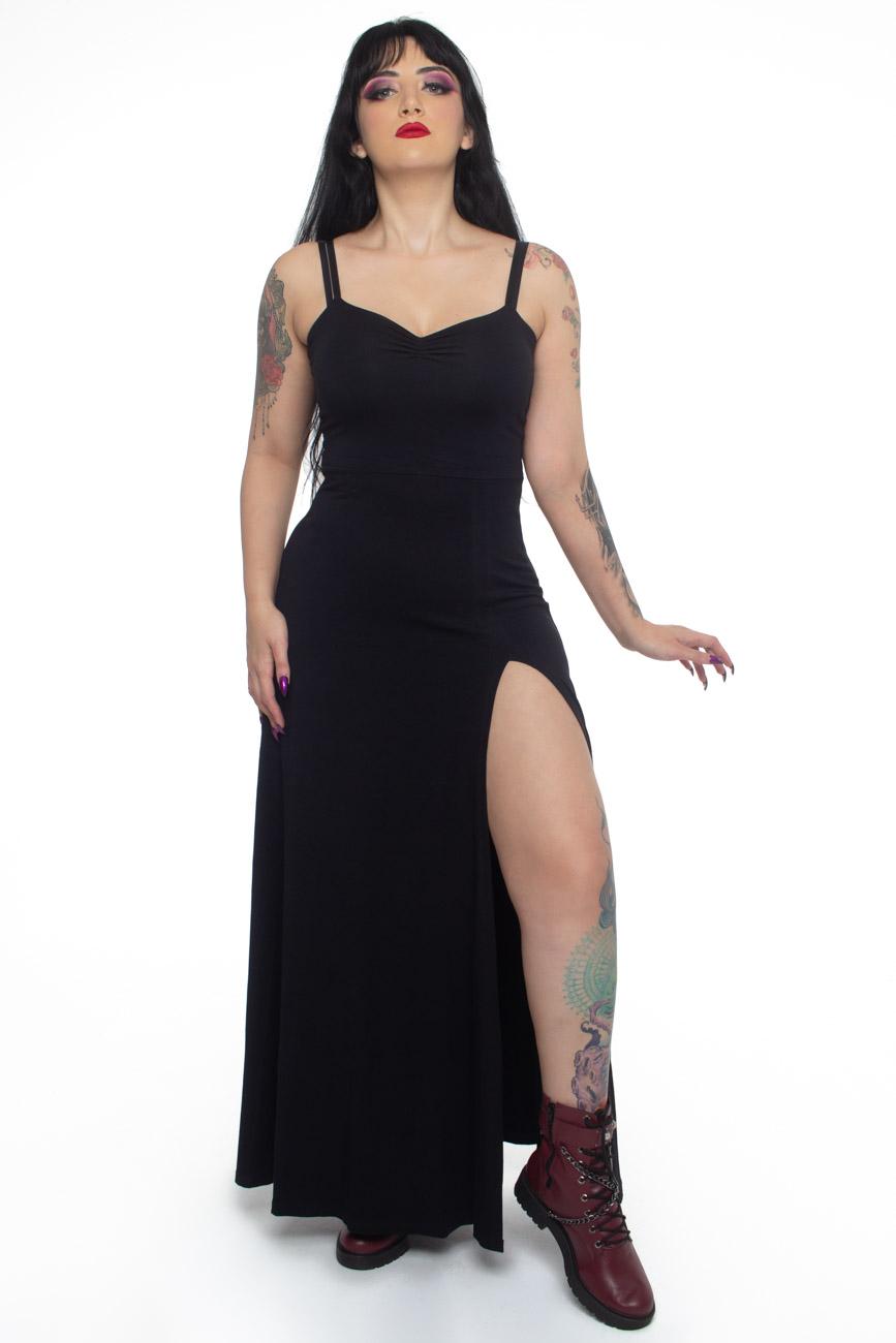 Vestido Longo Supreme Black